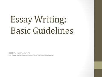 Essay writing beginning words
